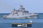 اختبار الصواريخ الروسية المضادة للسفن الحربية