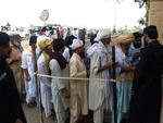 پاکستان کے قبائلی اضلاع میں انتخابات کے لئے پولنگ کا عمل جاری