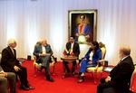 وزير الخارجية يلتقي نائبة الرئيس الفنزويلي ويبحث معها آخر التطورات
