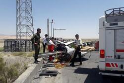 واژگونی خودرو در محور آرادان-سرخه/ ۲ نفر مصدوم شدند