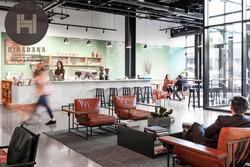 طراحی دکوراسیون داخلی کافی شاپ الم در واشنگتن