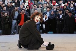 تئاتر خیابانی با موضوع اعتیاد در گرگان اجرا می شود