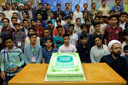 طلباء کی موجودگی میں جوان مدیروں کا کیمپ