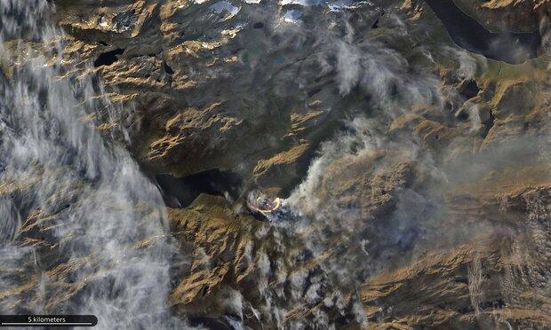 آب و هوای گرم آلاسکا و سیبری را به آتش کشید