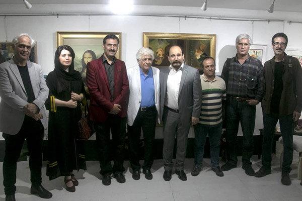 هنرمندان نقاش بروجردی در «گلدشت» گرد هم آمدند
