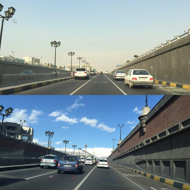 Tehran experiences clean, healthy air for 102 days
