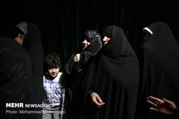 بدرقه شهید حسین ادیبان در معراج شهدا