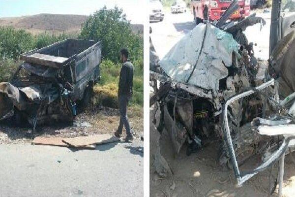 برخورد خودروها در خراسان شمالی 3 کشته برجای گذاشت
