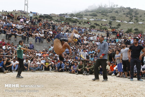 Traditional 'Locho' wrestling competitions