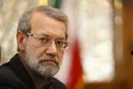 لاريجاني يؤكد على ضرورة توسيع التعاون بين إيران وقطر