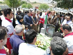 نخستین سالگرد شهادت شهید نجاتگر کردستان کوهسار فاتحی برگزار شد