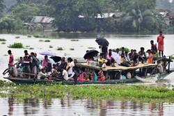 قربانیان سیل در هند به ۱۶۰ نفر رسید/ ۱۱ میلیون نفر آسیب دیدند