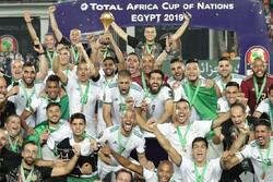 قهرمانی الجزایر در جام ملت های آفریقا