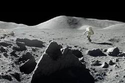 تصاویر پانوراما از فرود آپولو ۱۱ روی ماه