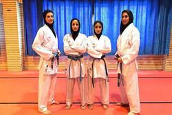 İranlı kadın karatecilerilerden büyük başarı