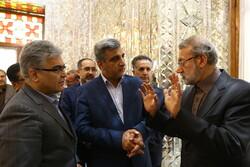 دیدار مدیران تامین اجتماعی با رئیس مجلس