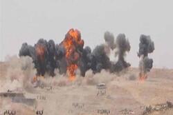 هلاکت ۷ داعشی و انهدام ۲۳ مخفیگاه تکفیری ها در شمال عراق