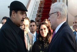 دیدار و گفتگوی ریابکوف و مادورو در کاراکاس
