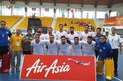 Iranian men's indoor hockey team wins Asian title