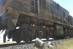 حمله تروریستی به قطار حمل فسفات در حومه شرقی حمص
