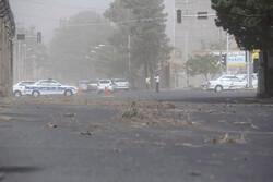 گرد و غبار شدید شرق کرمان را فرا گرفت/ آلودگی هوا بالاتر از حد مجاز