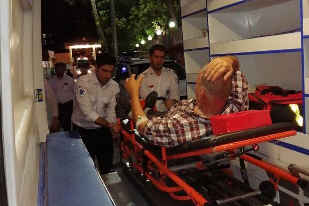 واژگونی اتوبوس زائران عراقی ۲۲ مصدوم برجا گذاشت