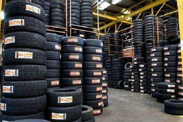 راه اندازی سامانه توزیع لاستیک ماشین سنگین