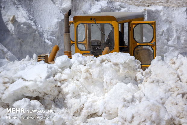 Dealing with snow-blocked roads in mid Summer