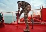 Alıkonulan İngiliz petrol tankerinden son fotoğraflar