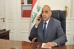 عبدالمهدي يجري اتصالا هاتفيا في ظرف حساس بالبارزاني