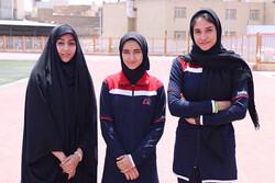 حضور ۲ دختر دو و میدانی کار قم در مسابقات قهرمانی کشور