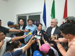 Iran's FM arrives in Nicaragua for bilateral talks