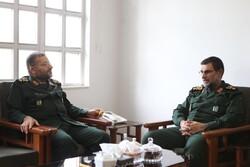 سردار تنگسیری با رئیس سازمان بسیج مستضعفین دیدار و گفتگو کرد