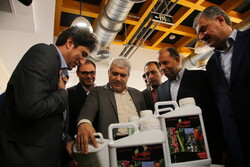 VP visits knowledge-based firms, inaugurates project in N. Khorasan