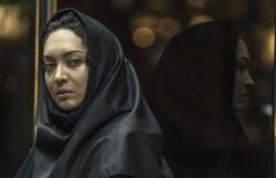 """Niki Karimi acts in a scene from Mohammad Hamzei's drama """"Azar""""."""