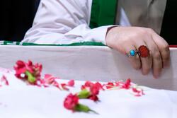 معراج شہداء میں شہید سید محسن نقیبی کے پیکر سے وداع