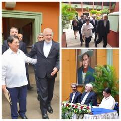 ظريف يلتقي نظيره النيكاراغوي