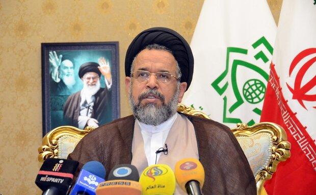 وزير الأمن الإيراني: وحدة العالم الإسلامي روعت عالم الكفر