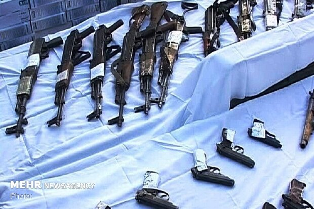 مغربی آذربائیجان میں غیر قانونی اسلحہ برآمد