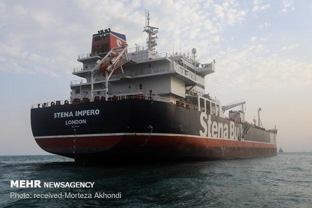 Detained British-flagged Stena Impero