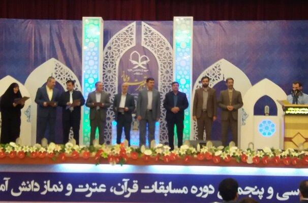 دانش آموزان مرند در مسابقات قرآن و عترت و نماز خوش درخشیدند
