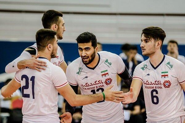 شکست آرژانتین برابر تیم والیبال جوانان ایران