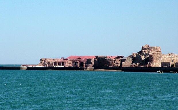 آغاز مرمت اضطراری قلعه پرتغالی های جزیره هرمز