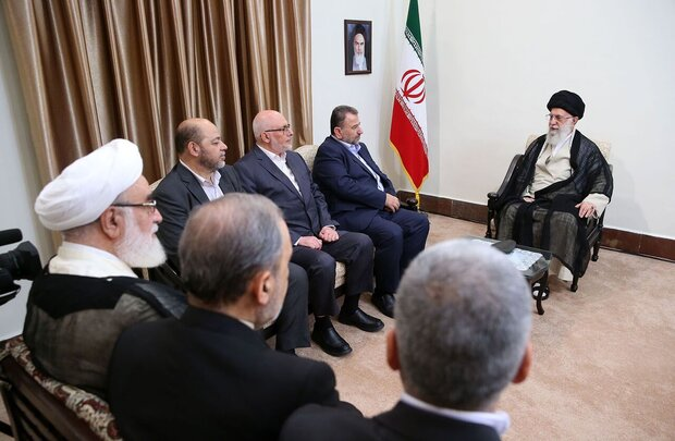 Leader receives Hamas deputy head