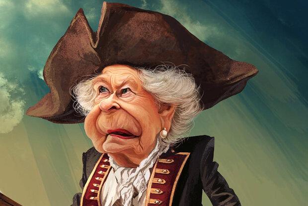 «ملکه کشتیرُبا» سوژه کاریکاتور میشود/ واکنش هنری به یک جوسازی