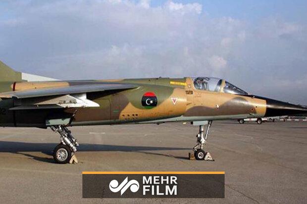 فرود اضطراری جنگنده لیبیایی در تونس
