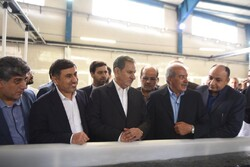 افتتاح یک شرکت پرورش ماهی در البرز با حضور معاون اول رئیس جمهور