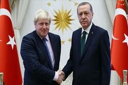 گفتگوی اردوغان با نخستوزیر انگلیس