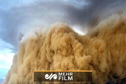 طوفان سهمگین همراه با بارش شدید در ایرانشهر