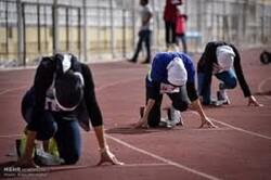 حضور بانوان دو ومیدانی کار آذربایجان شرقی در مسابقات قهرمانی کشور